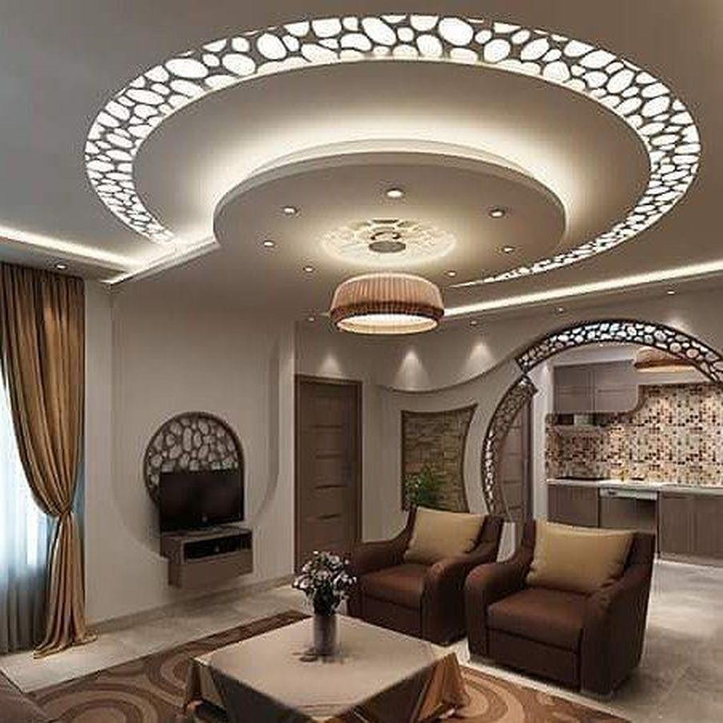 Nice Living Room Ceiling Lights Design Ideas 08