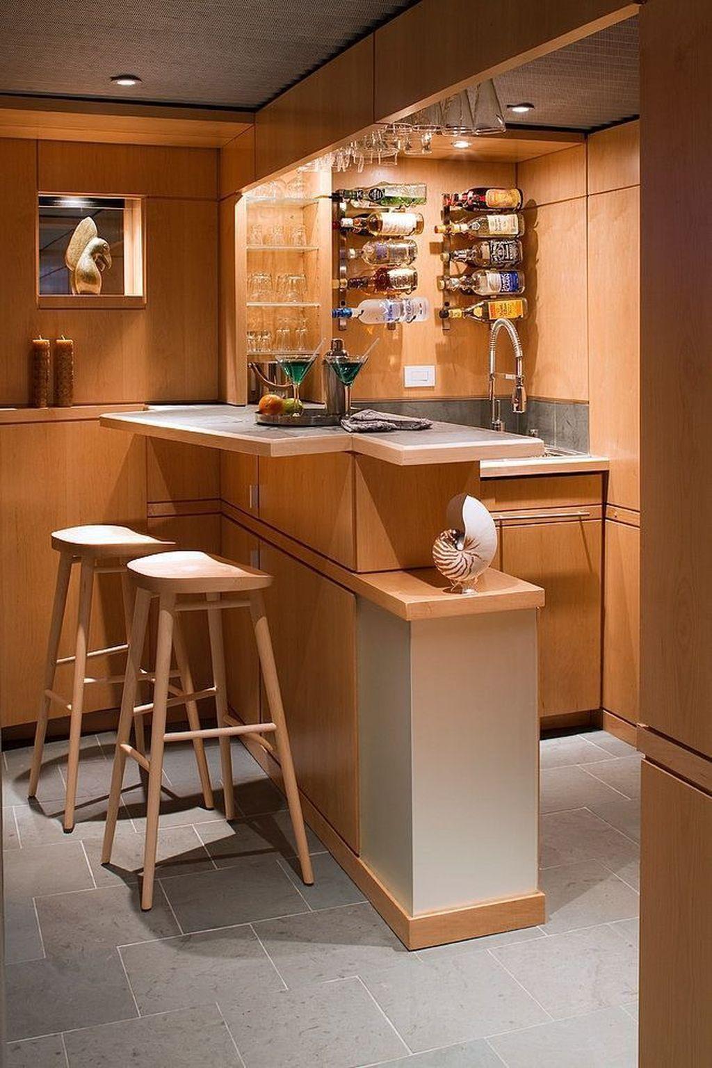 Popular Small Home Bar Design Ideas 08 1