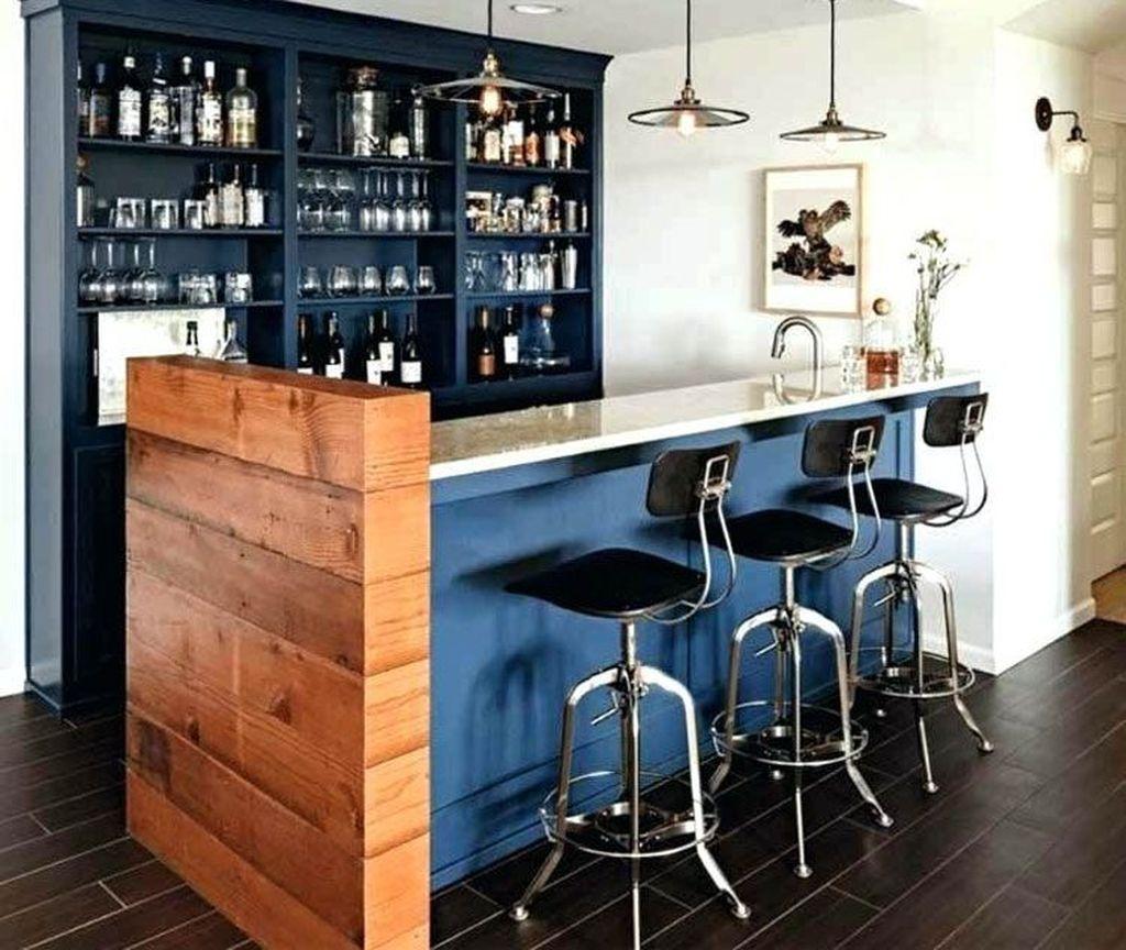 Popular Small Home Bar Design Ideas 12 1