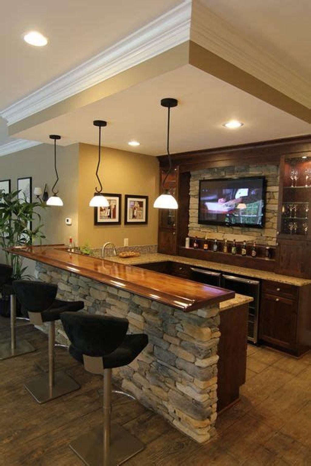 Popular Small Home Bar Design Ideas 15 1