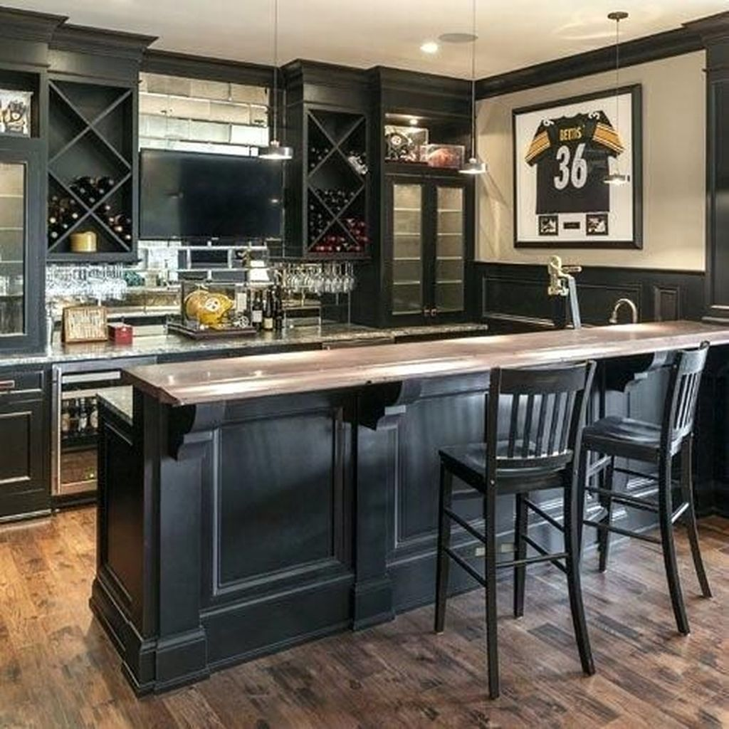 Popular Small Home Bar Design Ideas 27 1