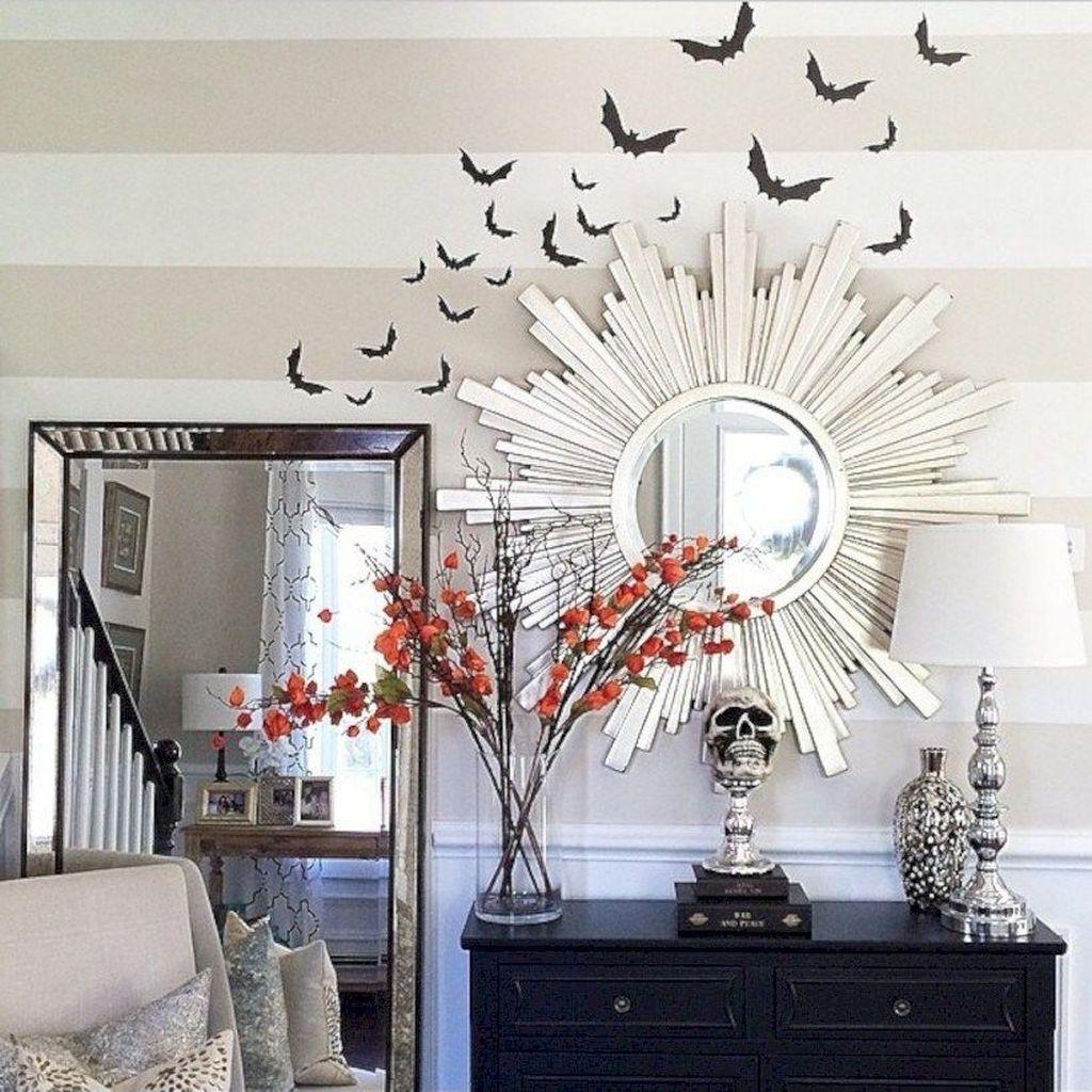 Stunning Halloween Living Room Decor Ideas Looks Scary 12