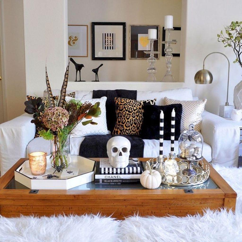 Stunning Halloween Living Room Decor Ideas Looks Scary 17