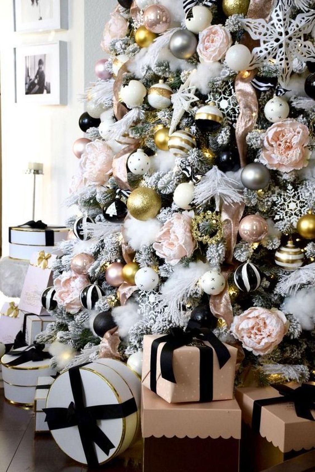 Beautiful Christmas Tree Decorations Ideas 20
