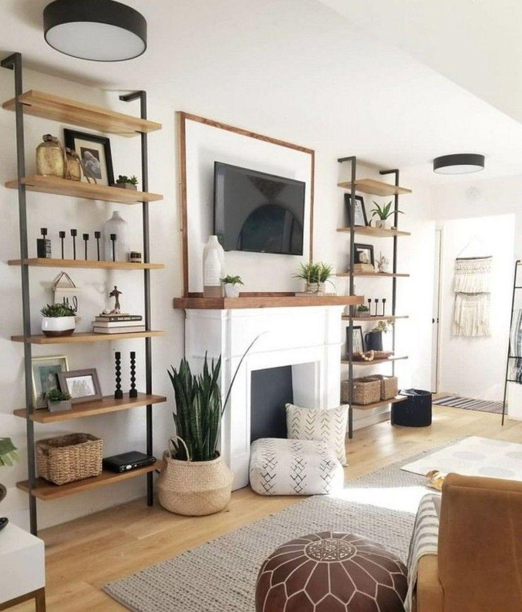 Fabulous Winter Living Room Decor Ideas 13