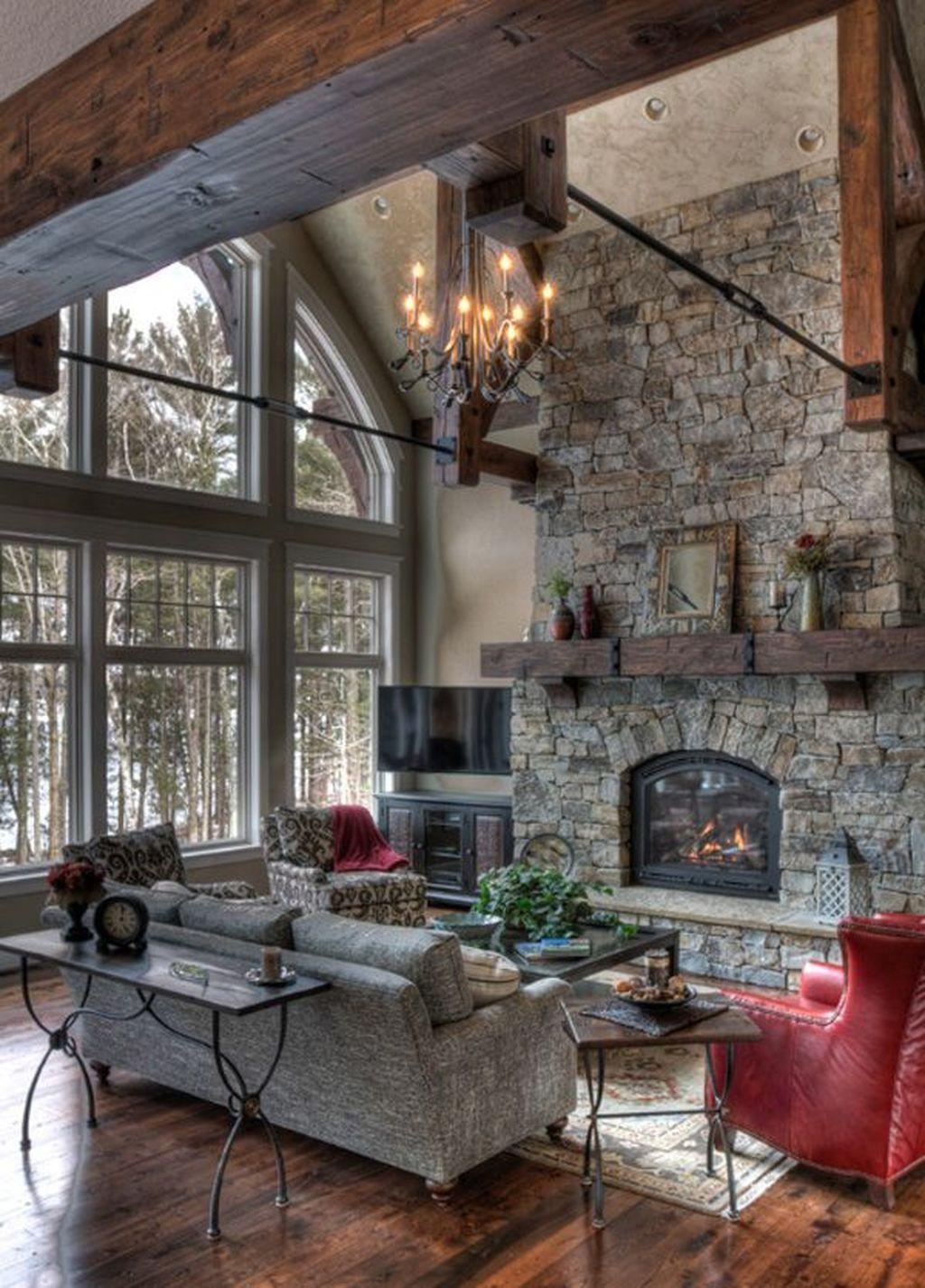 Fabulous Winter Living Room Decor Ideas 14