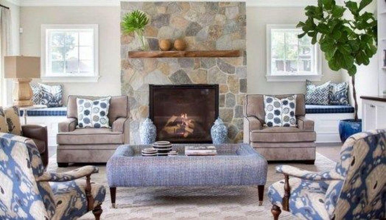 Fabulous Winter Living Room Decor Ideas 26