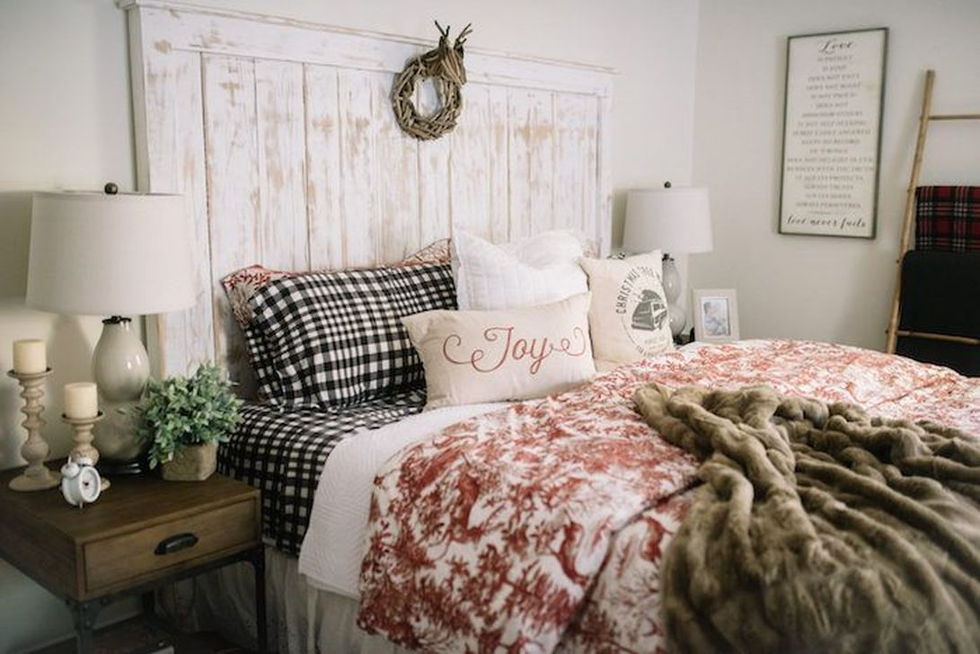 Gorgeous Master Bedroom Decor Ideas For Wintertime 13