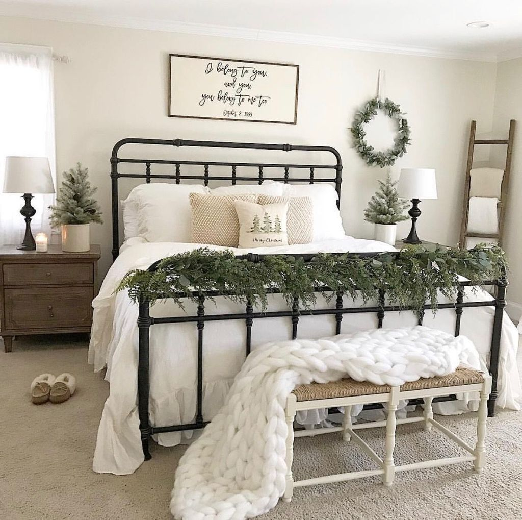 Gorgeous Master Bedroom Decor Ideas For Wintertime 18