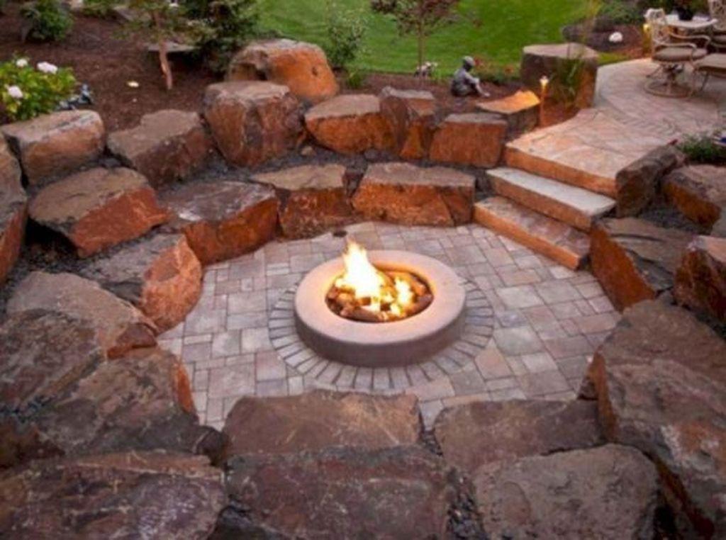 Inspiring Backyard Fire Pit Ideas 06