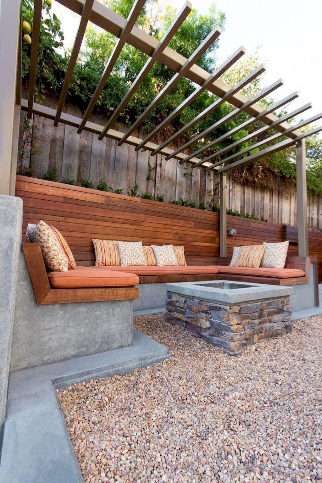Inspiring Backyard Fire Pit Ideas 30