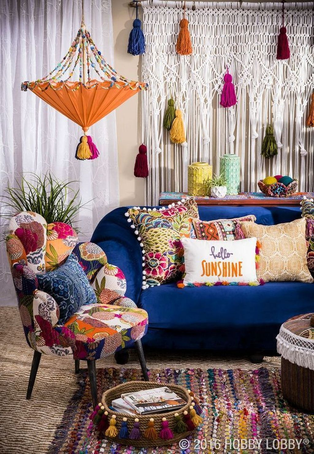 Lovely Bohemian Living Room Decor Ideas 24