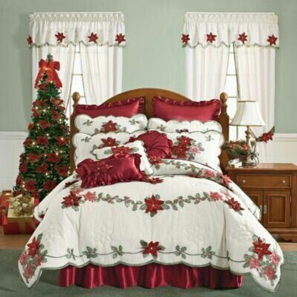 Lovely Christmas Kids Bedroom Decorations 24