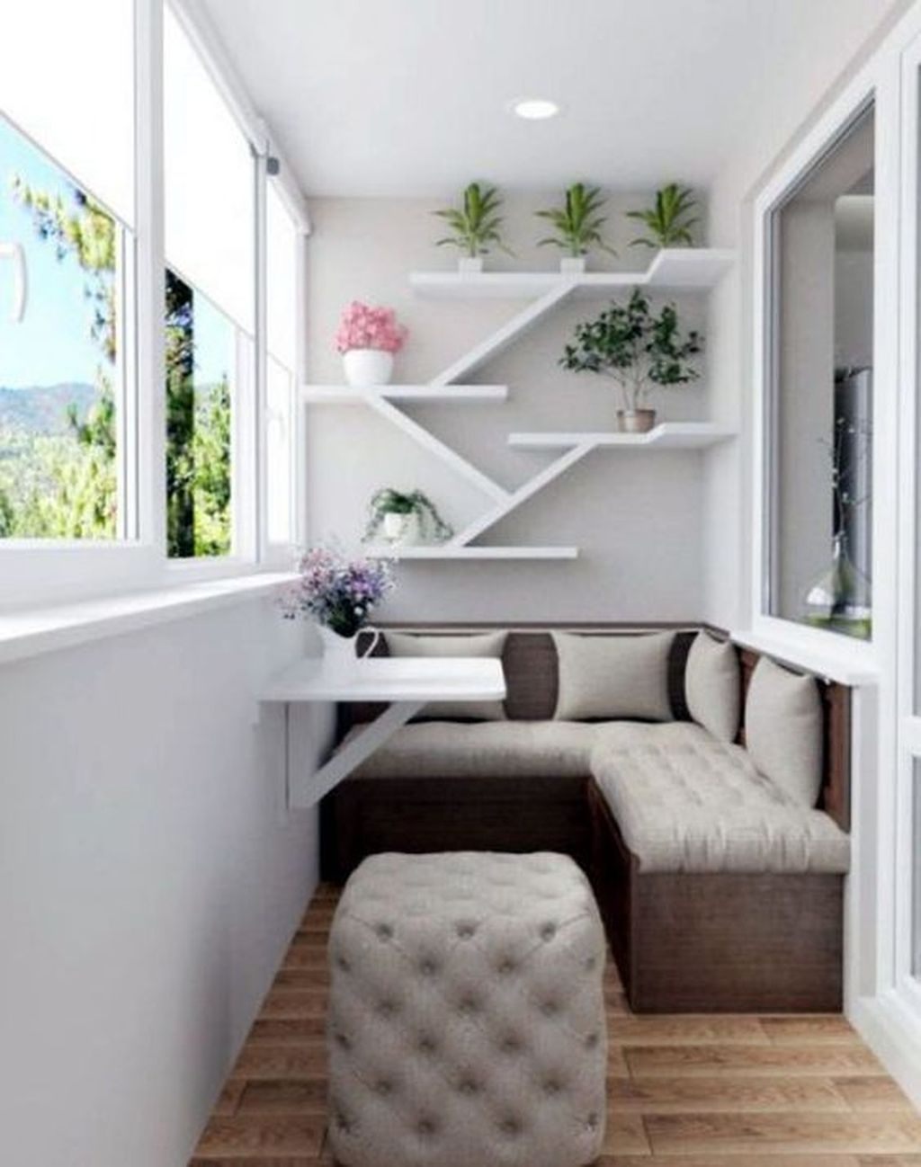 Lovely Small Apartment Balcony Design And Decor Ideas 03