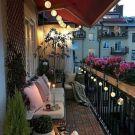 Lovely Small Apartment Balcony Design And Decor Ideas 14