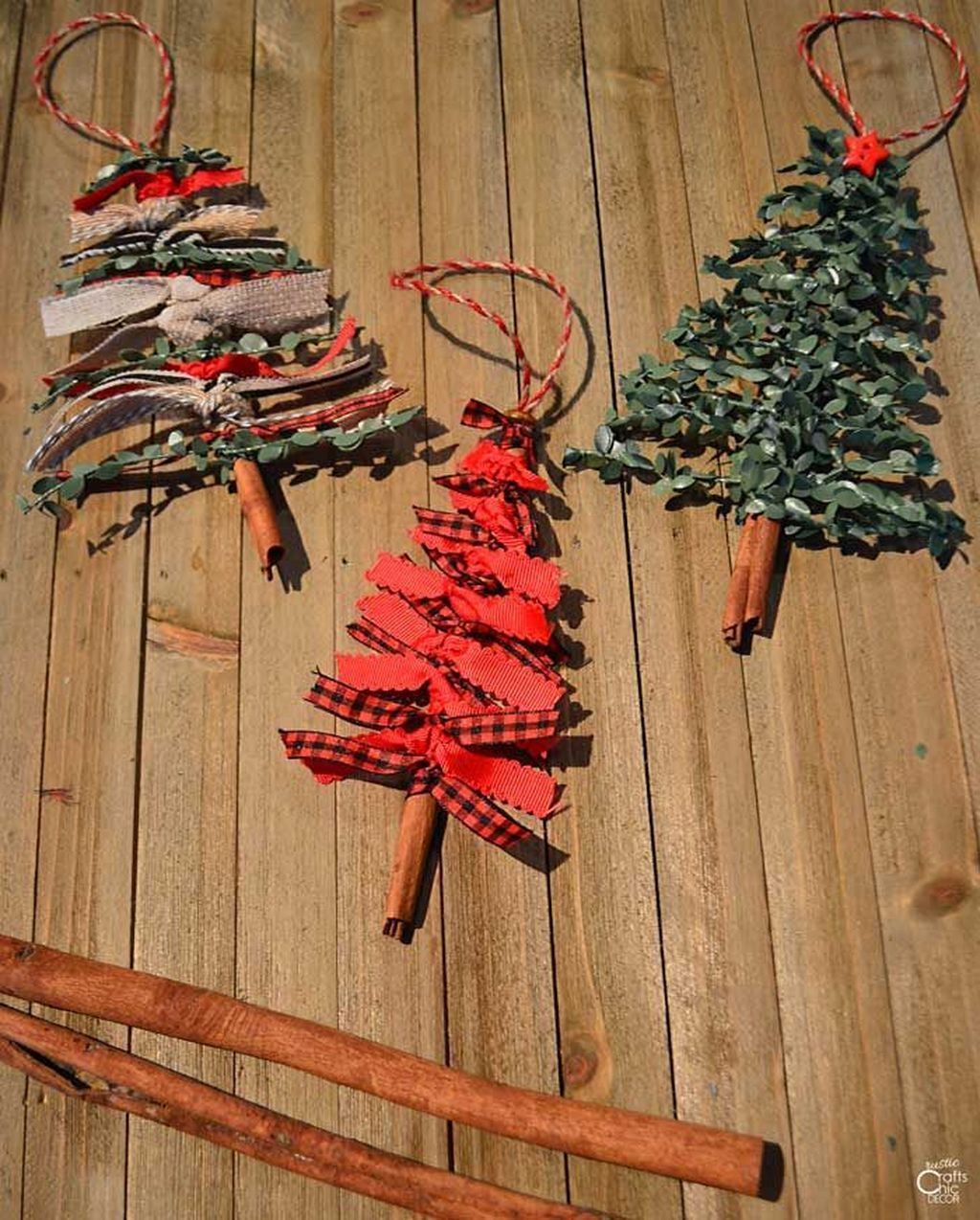 Nice Christmas Rustic Ornaments For Home Decoration 05