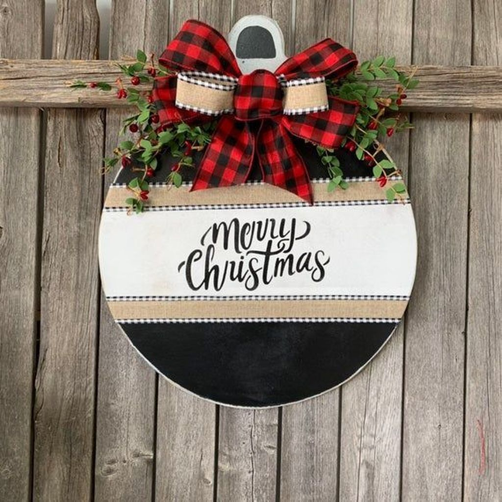 Nice Christmas Rustic Ornaments For Home Decoration 21