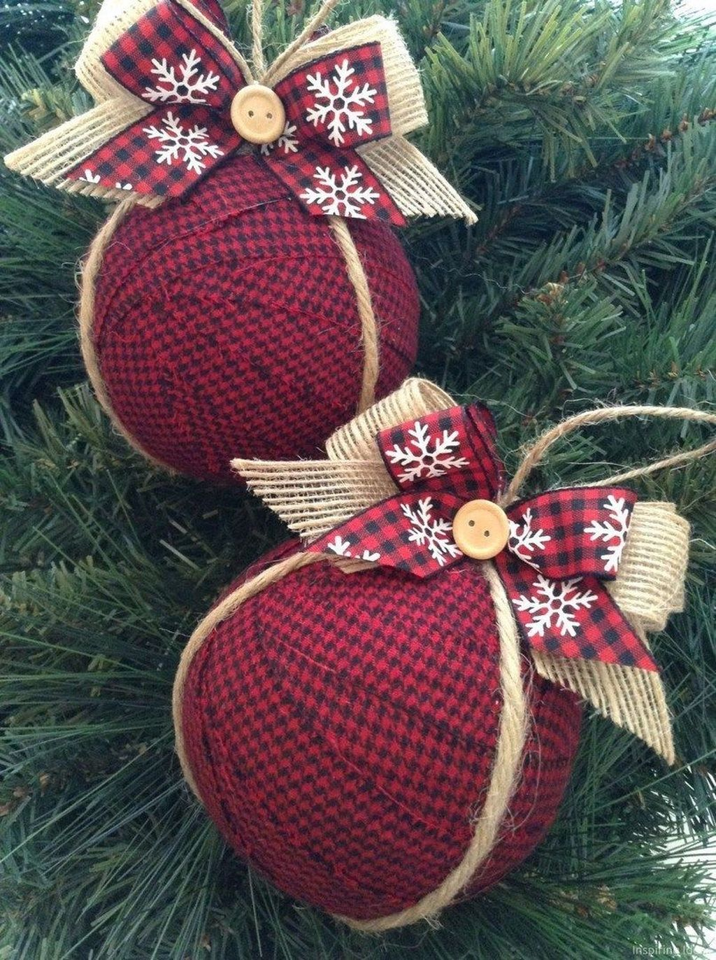 Nice Christmas Rustic Ornaments For Home Decoration 22
