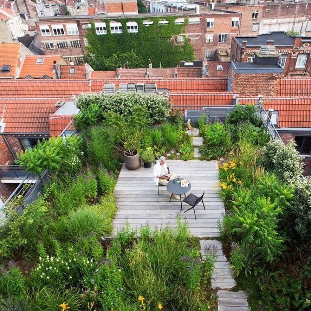 Nice Rooftop Terrace Design Ideas 14
