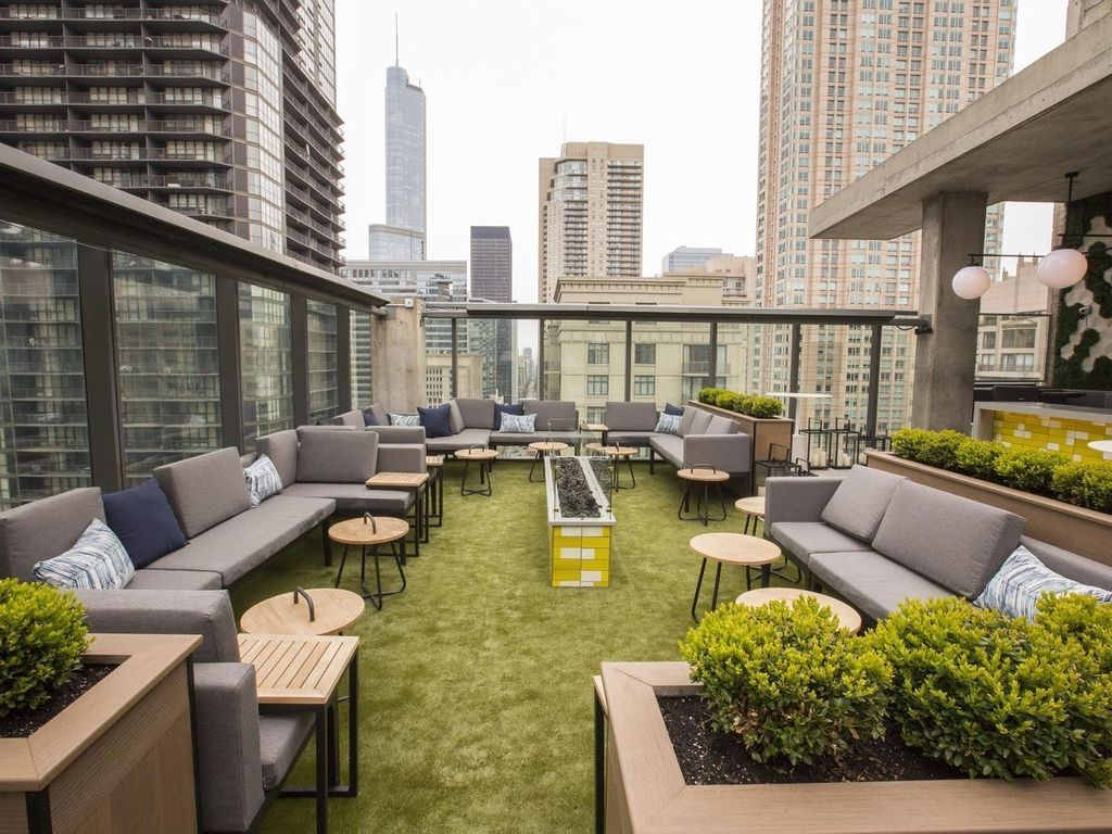 Nice Rooftop Terrace Design Ideas 20