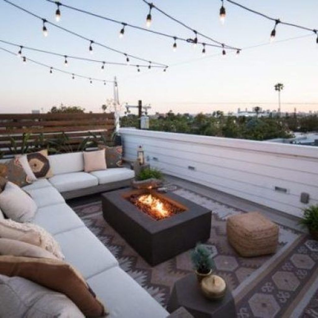 Nice Rooftop Terrace Design Ideas 26