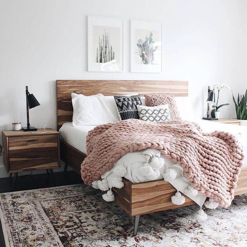 Stunning Bedding Ideas For Cozy Bedroom 06