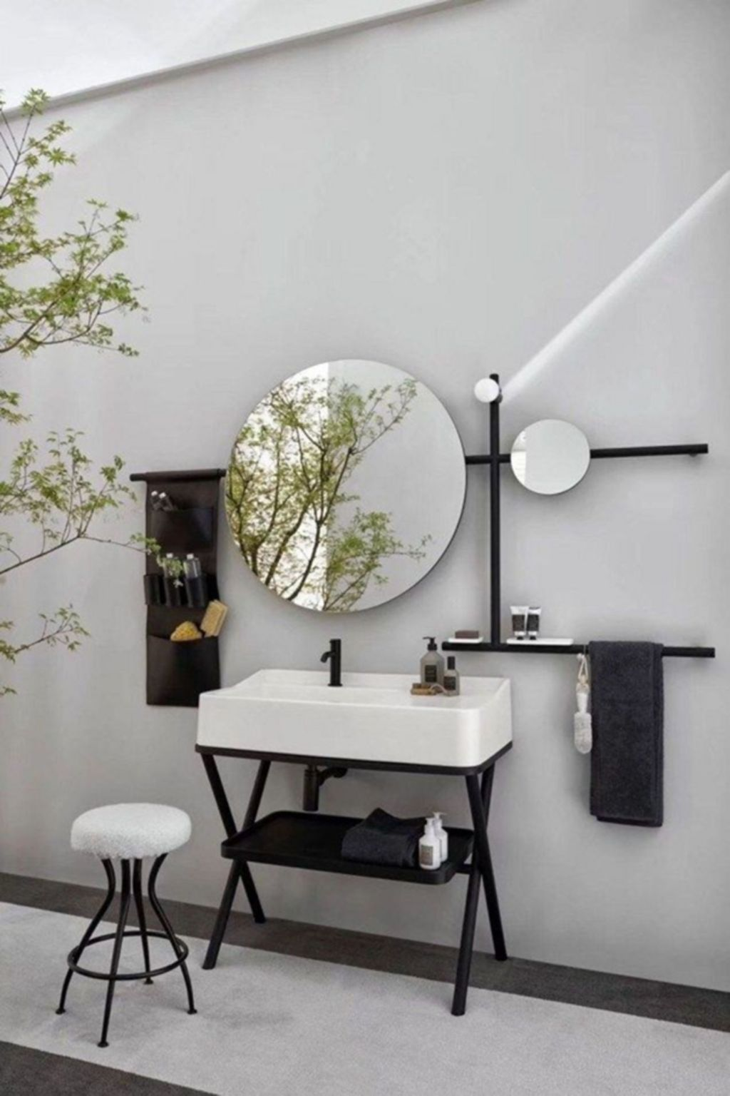 Stunning Industrial Bathroom Design Ideas 03