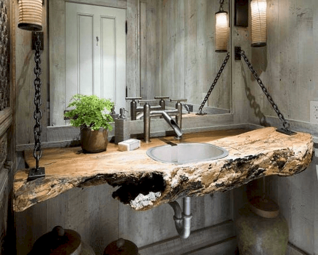 Stunning Industrial Bathroom Design Ideas 13