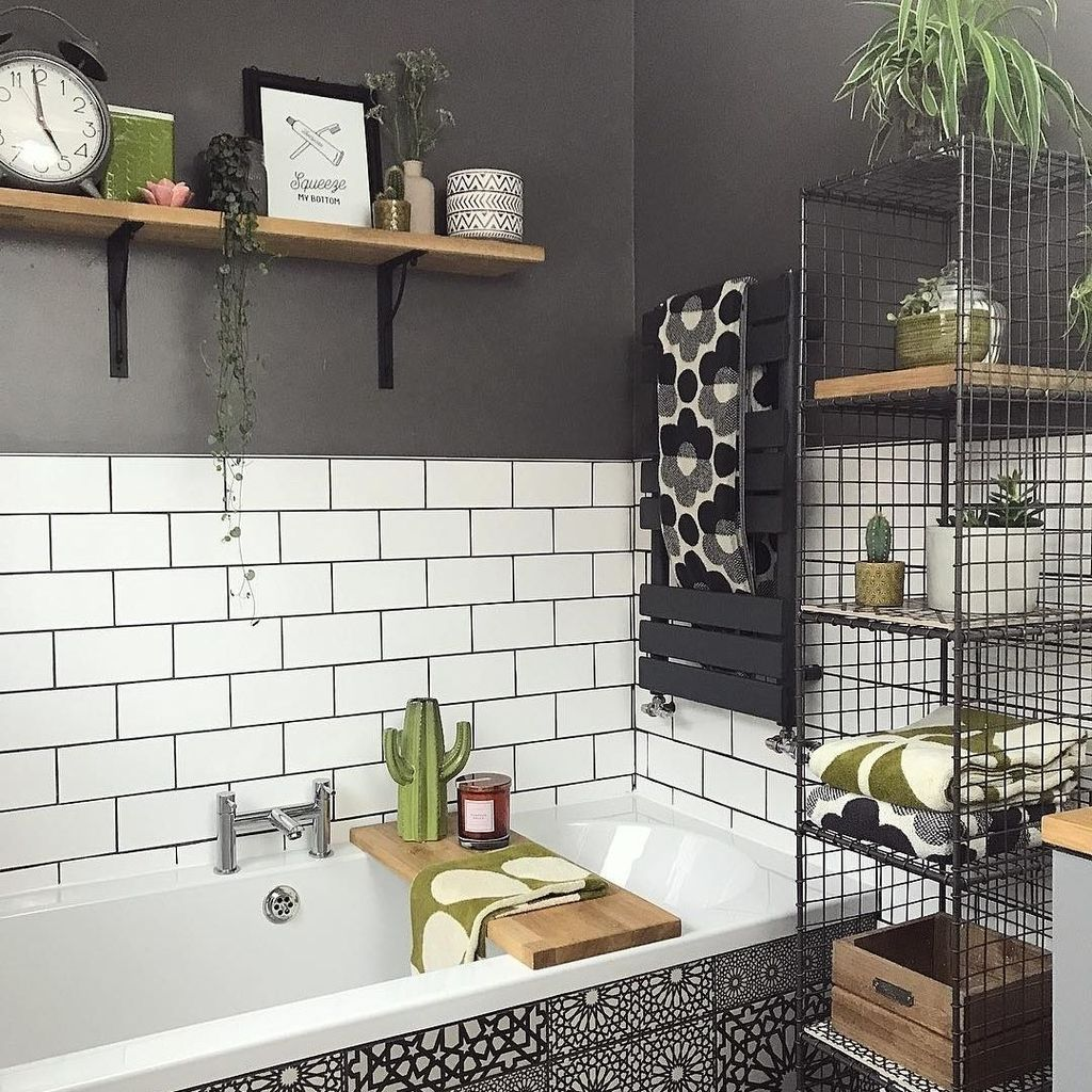Stunning Industrial Bathroom Design Ideas 20