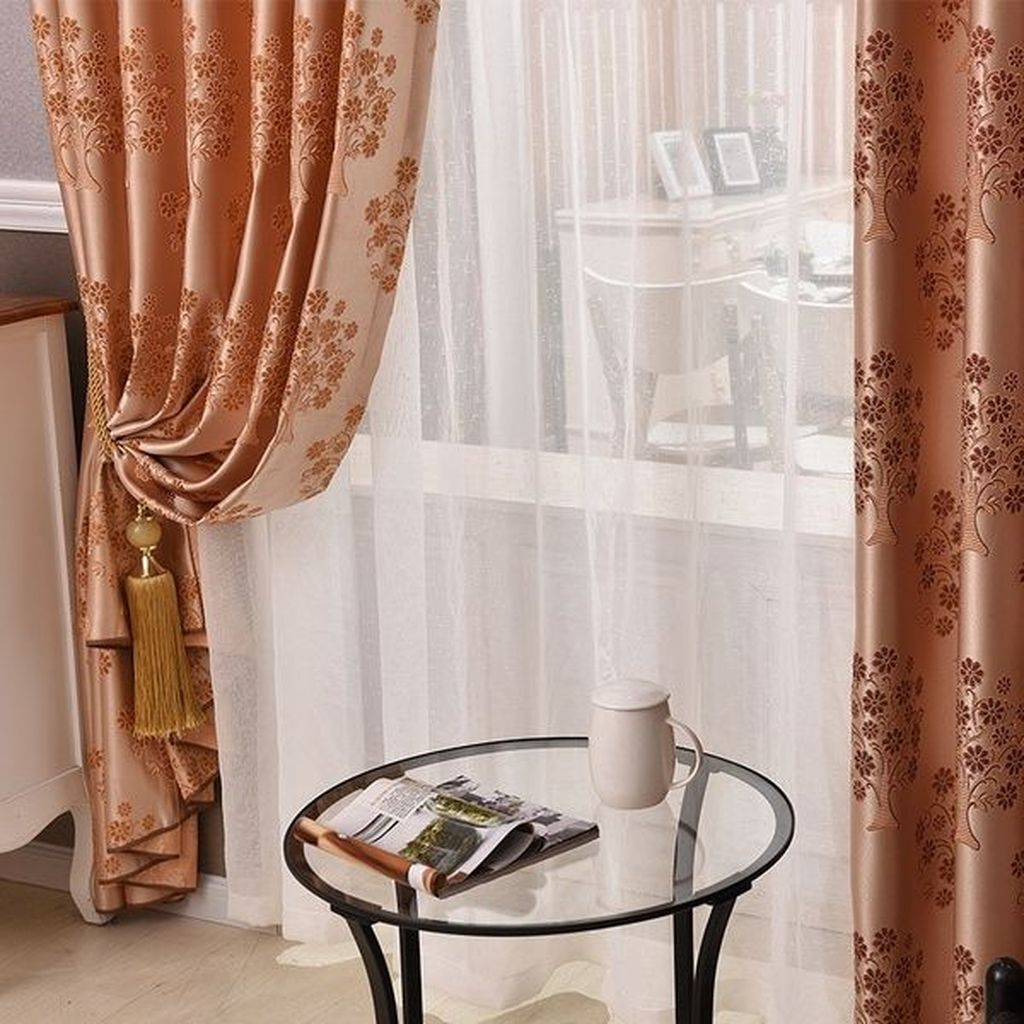 The Best Winter Curtains Ideas For Your Living Rooms 05