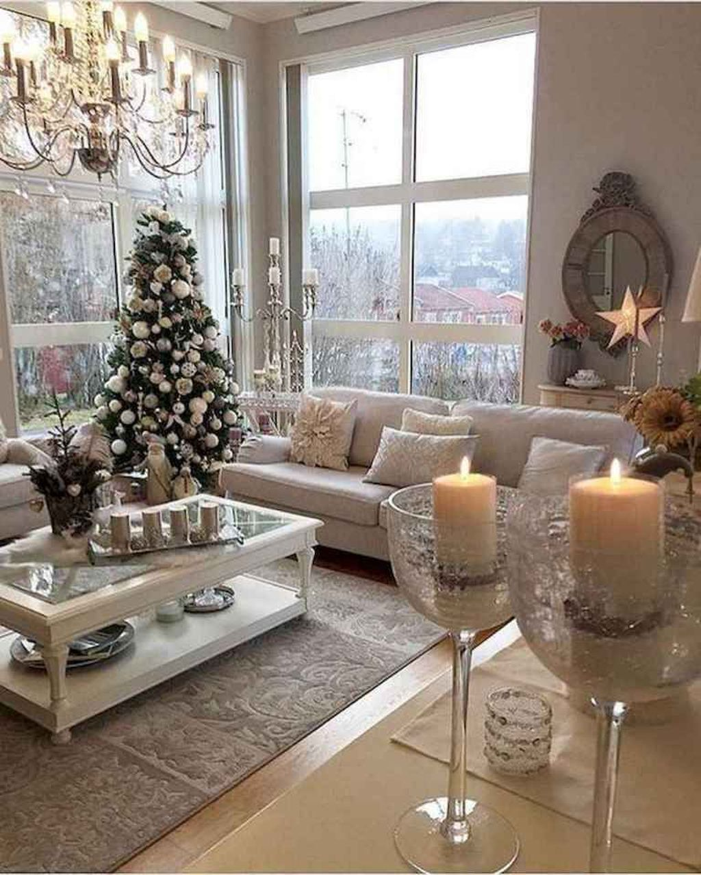 Beautiful Winter Apartment Decor Ideas 04