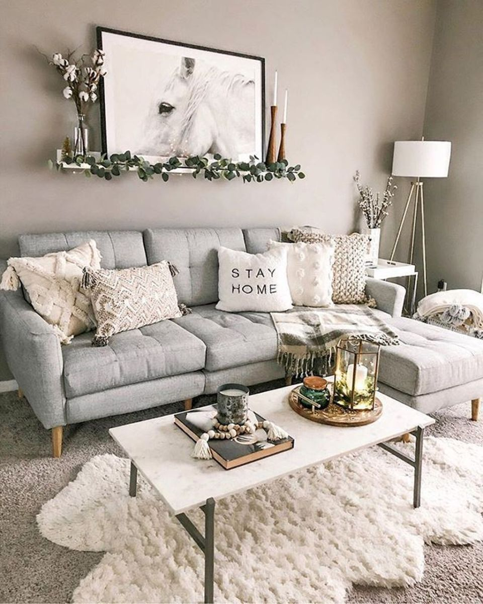 Beautiful Winter Apartment Decor Ideas 22