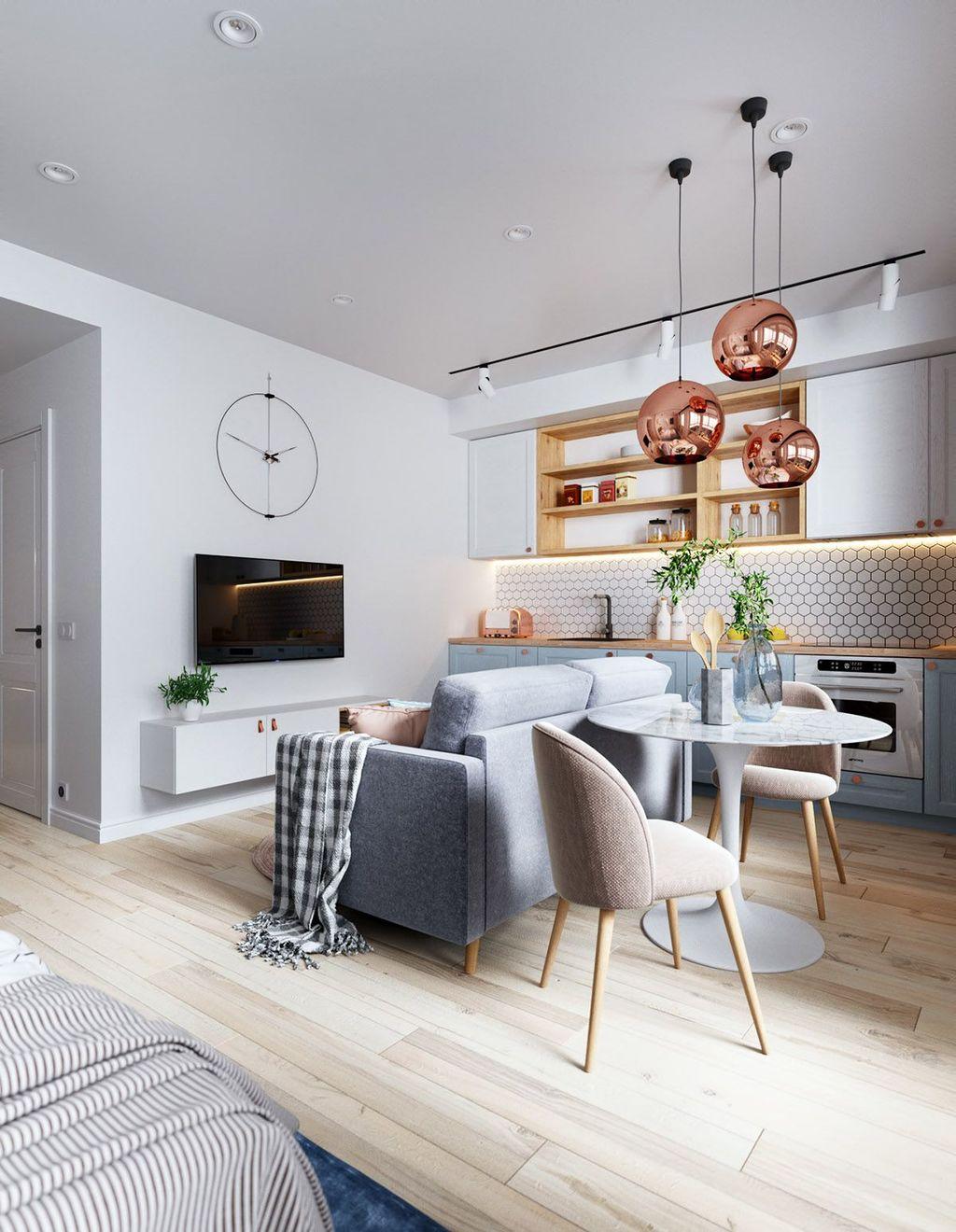 Amazing Studio Apartment Layout Ideas 29