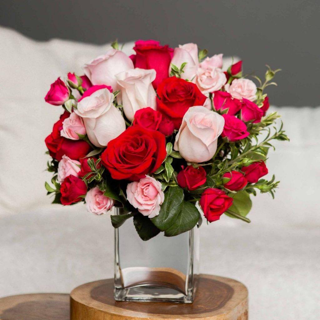Beautiful Valentine Flower Arrangements That You Will Like 03