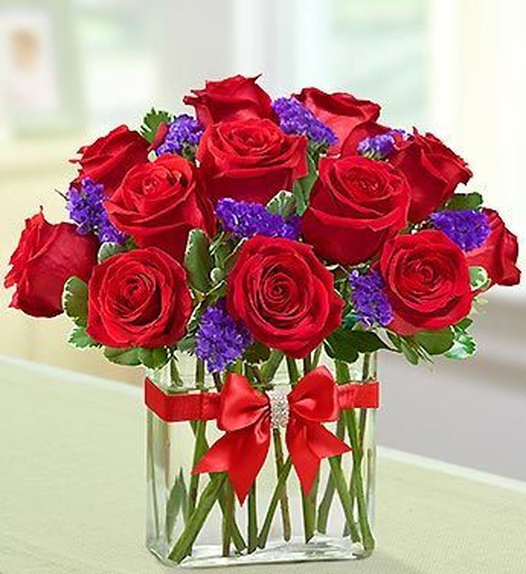 Beautiful Valentine Flower Arrangements That You Will Like 06