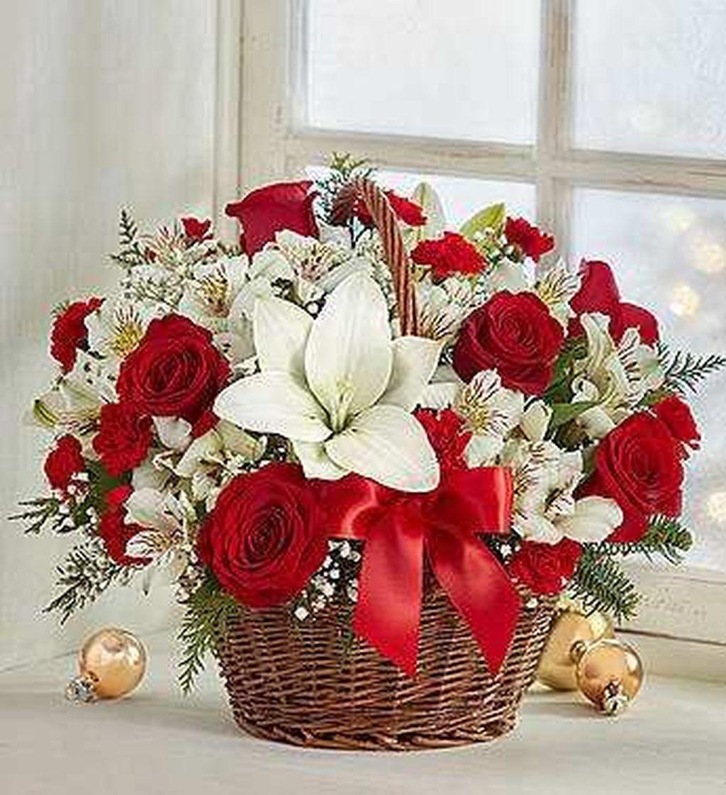 Beautiful Valentine Flower Arrangements That You Will Like 13