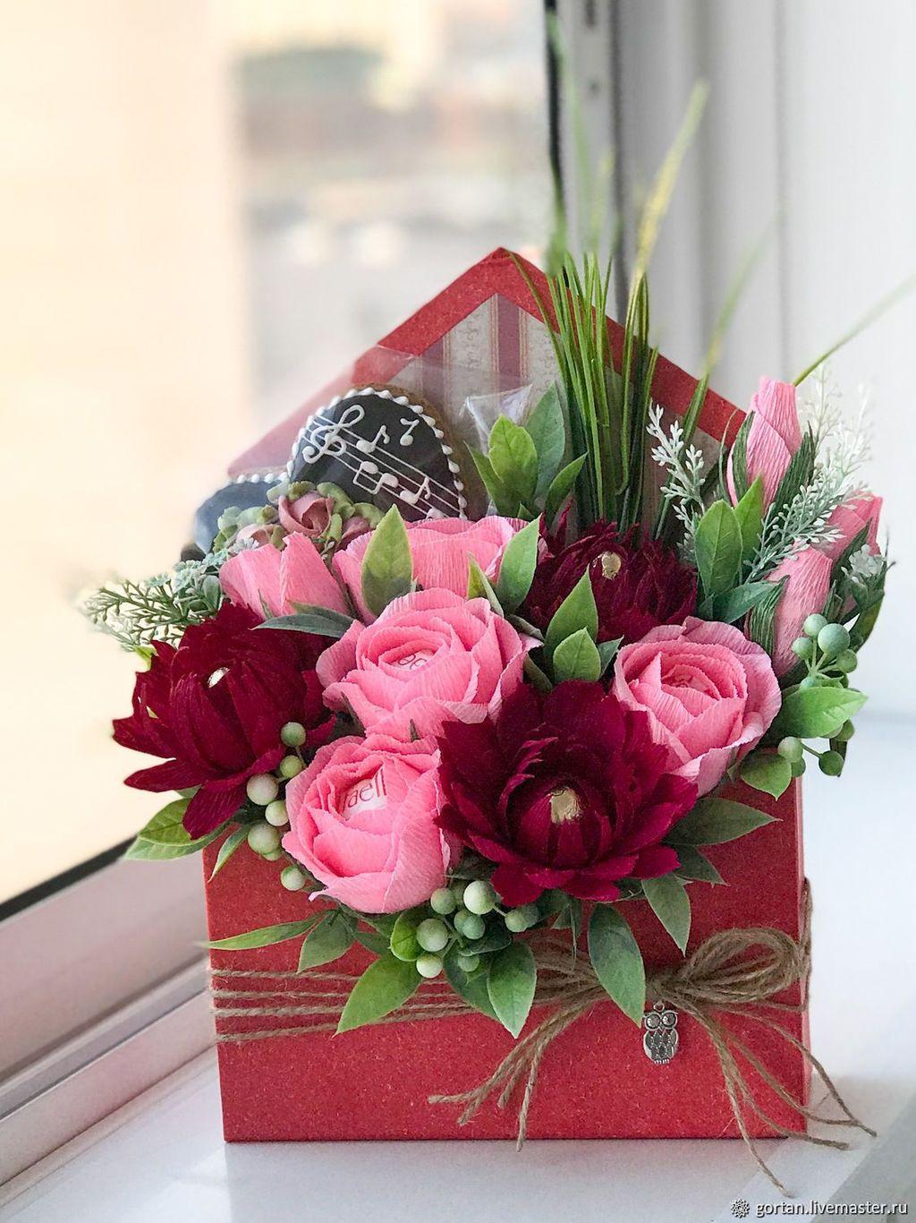 Beautiful Valentine Flower Arrangements That You Will Like 28