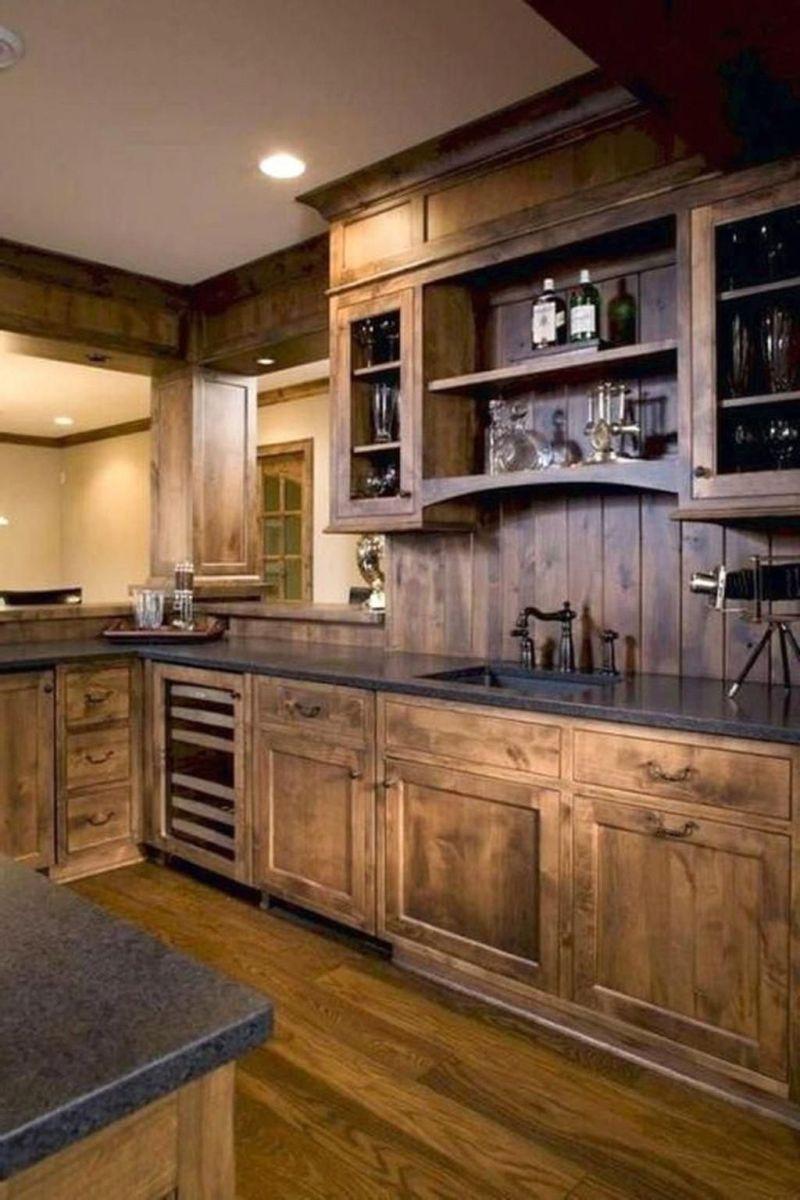 Fabulous Modern Rustic Kitchen Cabinets 05