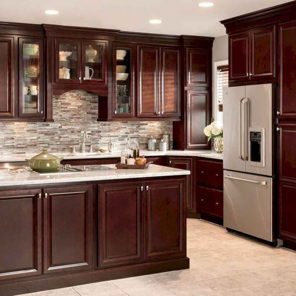 Fabulous Modern Rustic Kitchen Cabinets 16