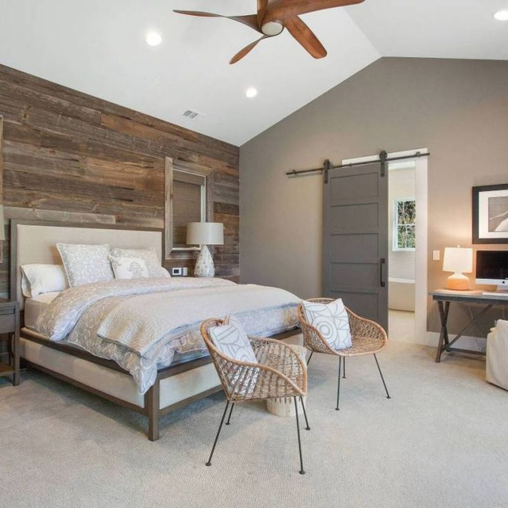 Gorgeous Rustic Bedroom Design And Decoration Ideas 02