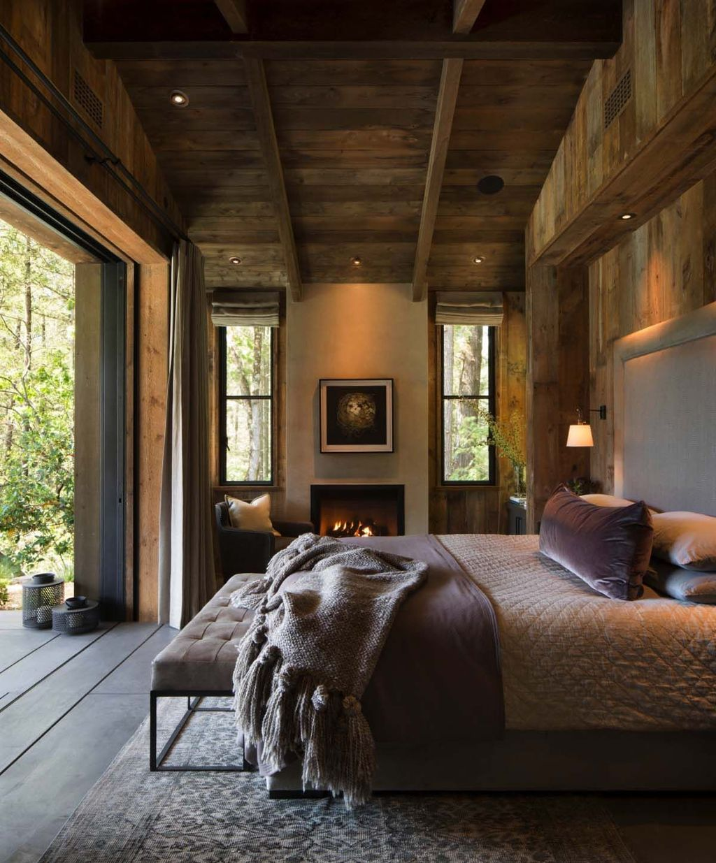 Gorgeous Rustic Bedroom Design And Decoration Ideas 20