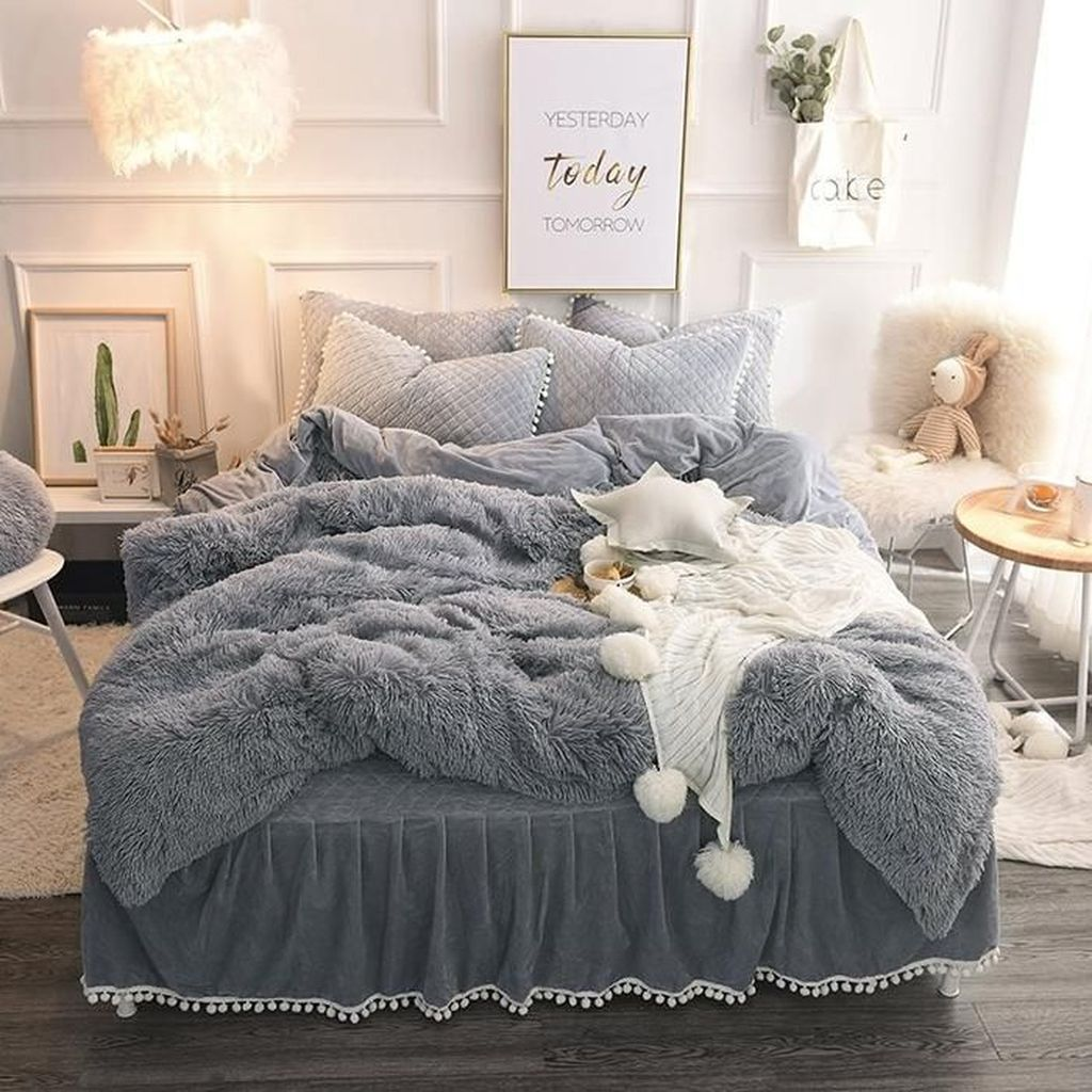 Inspiring Bedding Sets For Perfect Bedroom Decorations 08