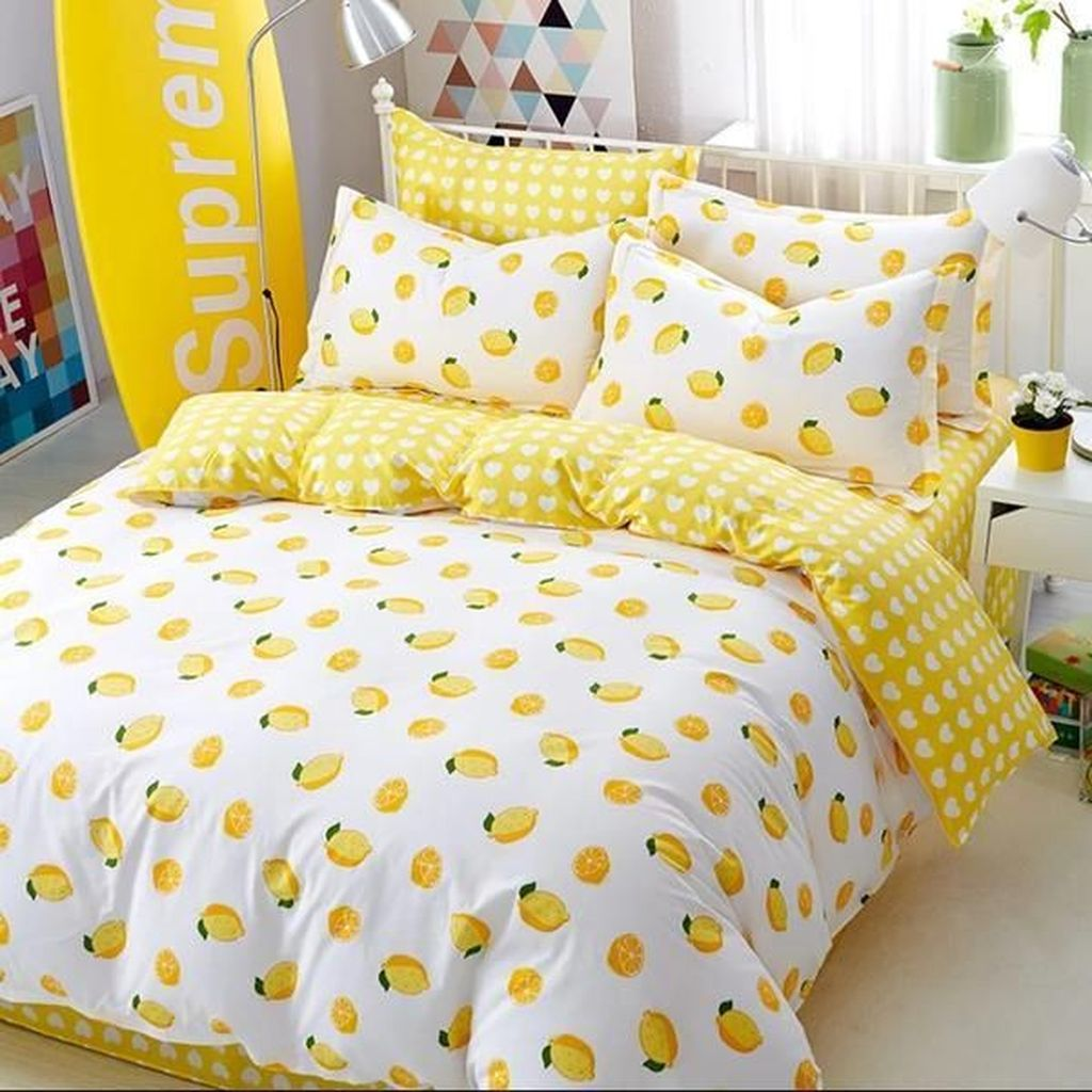 Inspiring Bedding Sets For Perfect Bedroom Decorations 32