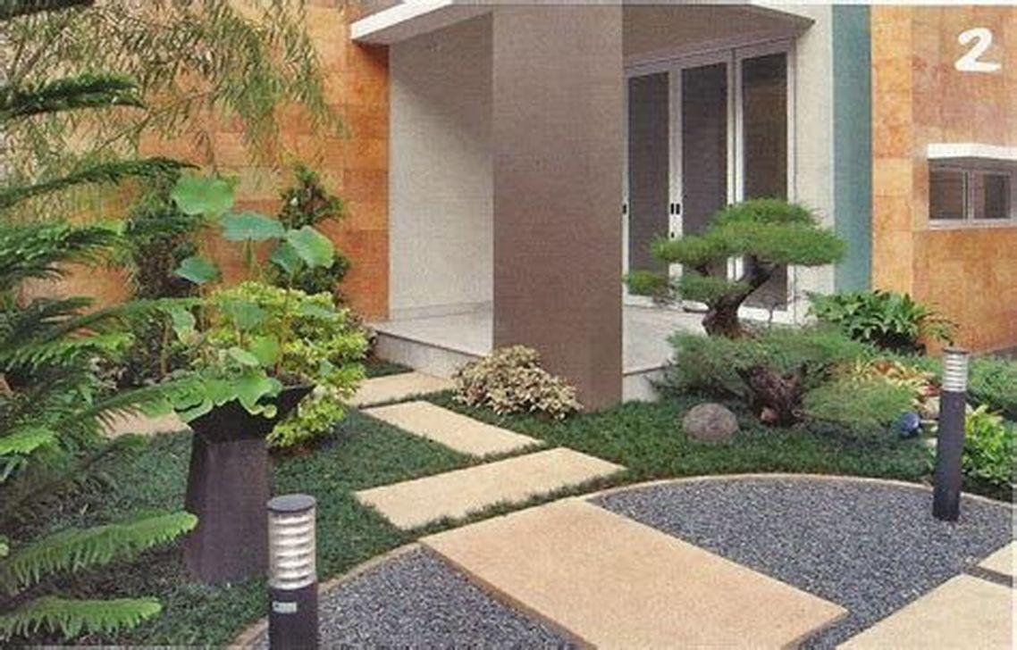 Inspiring Minimalist Garden Landscape Ideas That You Will Like 08