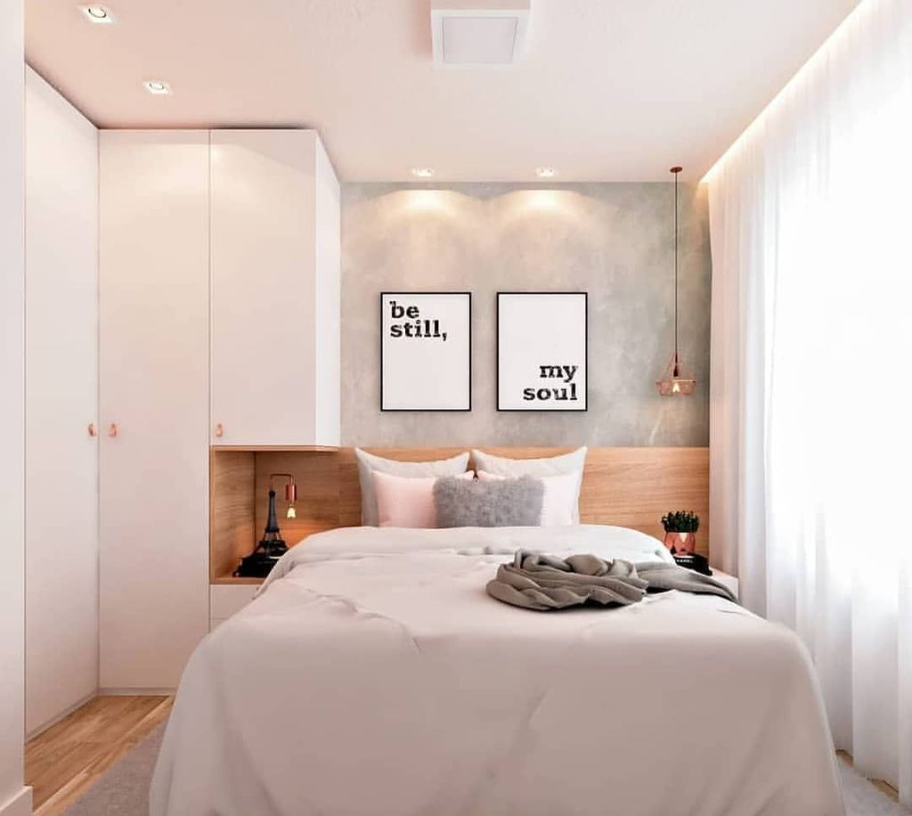 Inspiring Small Bedroom Ideas Which You Definitely Like 12