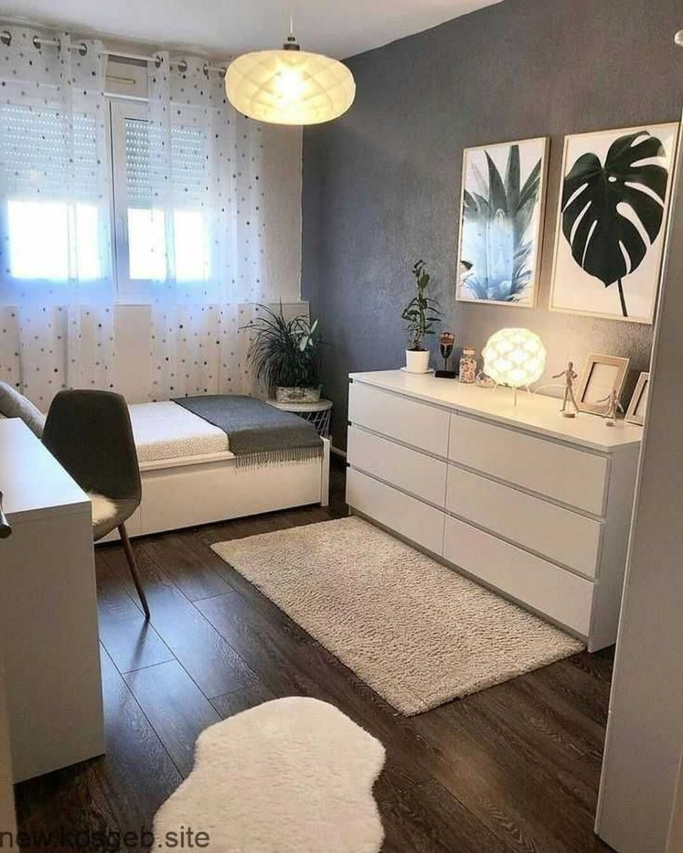 Inspiring Small Bedroom Ideas Which You Definitely Like 14