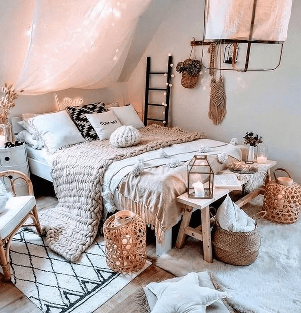 Lovely Bohemian Bedroom Decor Ideas You Have To See 12