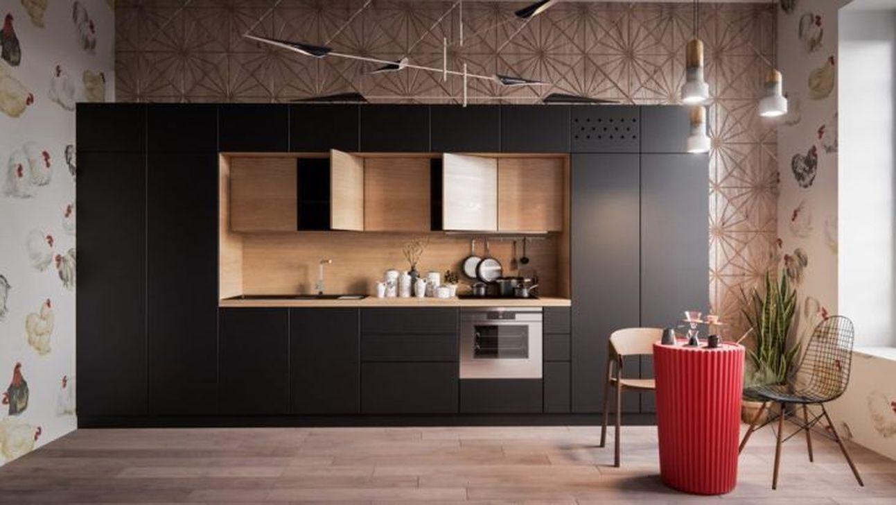 Lovely Japanese Kitchen Design Ideas 12
