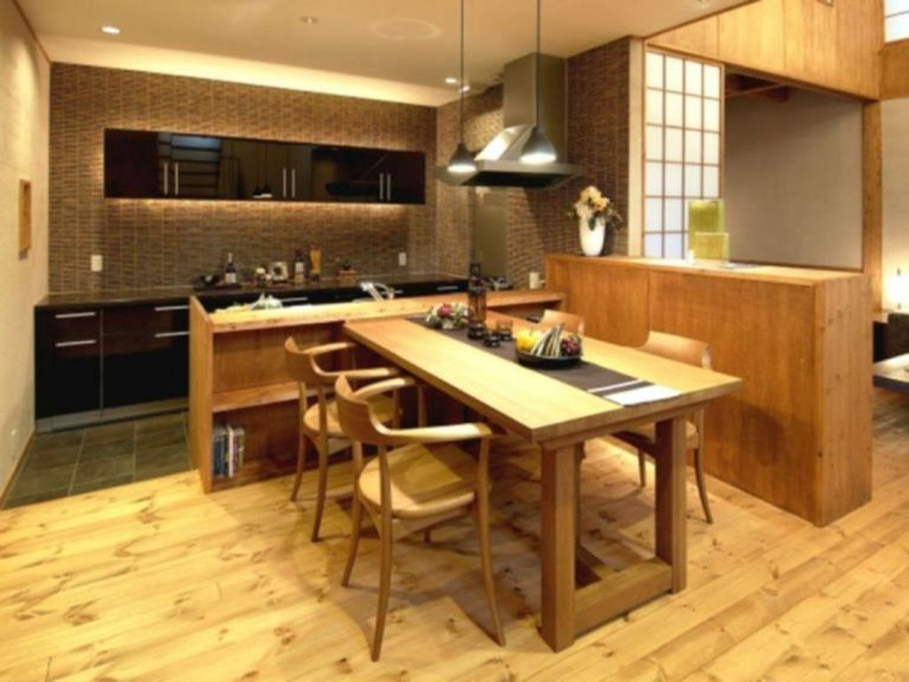 Lovely Japanese Kitchen Design Ideas 29