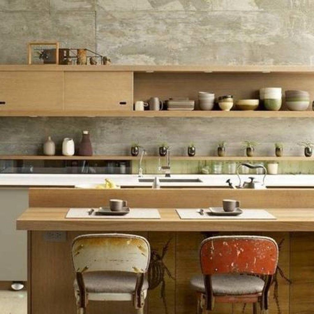 Lovely Japanese Kitchen Design Ideas 30